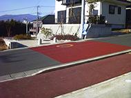 歩道部への適用